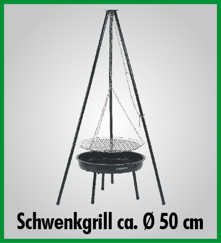 schwenkgrill indiana holzkohlegrill standgrill grill 4260056081026 ebay. Black Bedroom Furniture Sets. Home Design Ideas