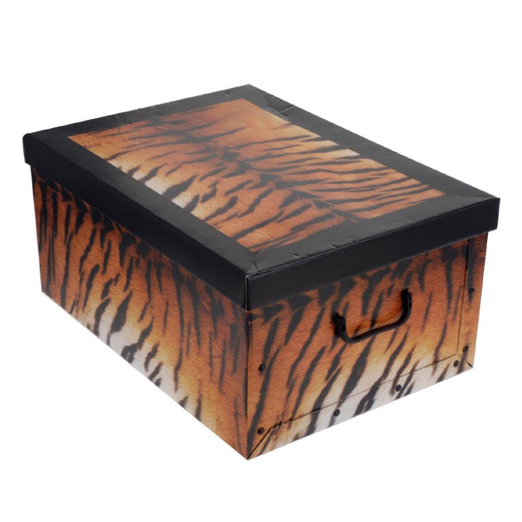 aufbewahrungsbox m deckel allzweckkiste pappbox karton box verschiedene designs. Black Bedroom Furniture Sets. Home Design Ideas