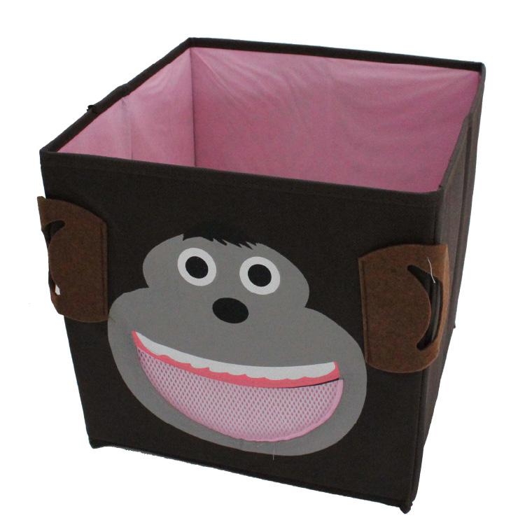 aufbewahrungsbox mit oder ohne deckel faltbox kinder spielzeug stauraum kiste ebay. Black Bedroom Furniture Sets. Home Design Ideas