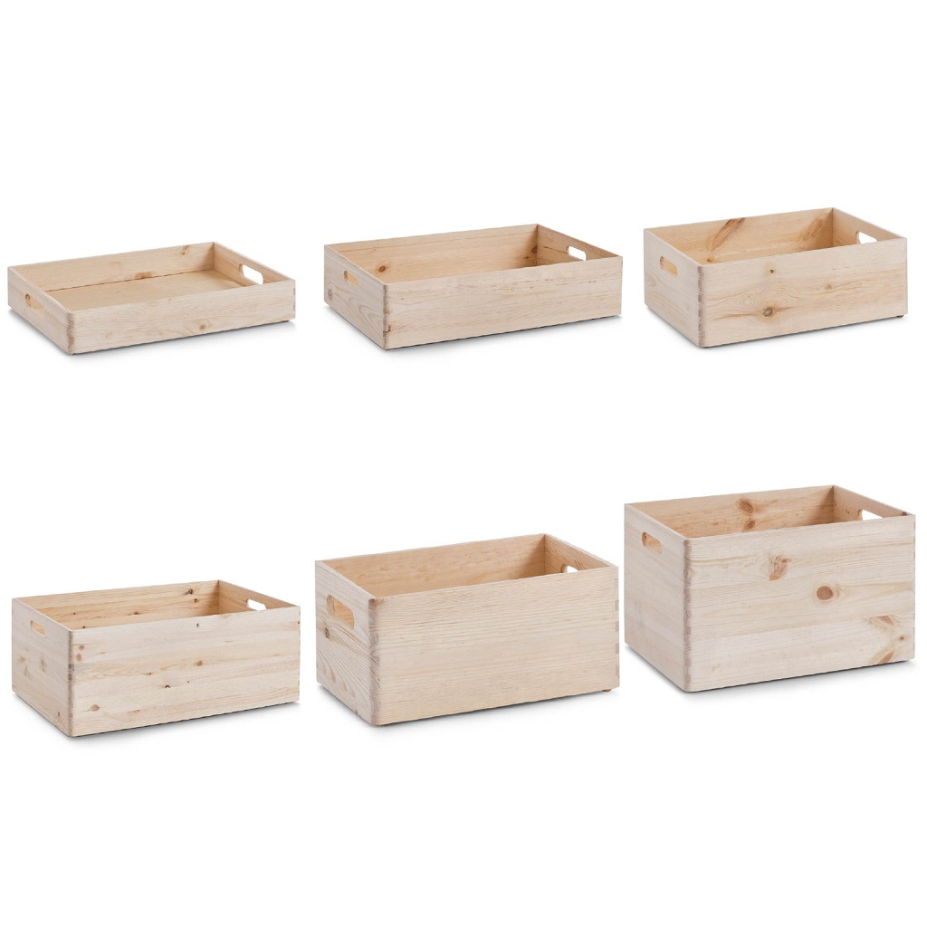 allzweckkiste kiefer holzkiste holzbox kiste aufbewahrung ordnung spielzeugkiste ebay. Black Bedroom Furniture Sets. Home Design Ideas