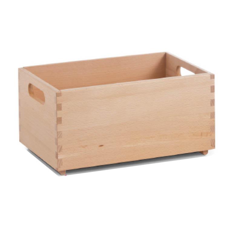 Zeller-Allzweckkiste-13306-Buche-lackiert-30x20x15cm-Aufbewahrungsbox-Holz-Kiste