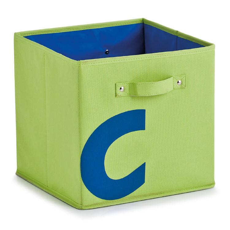 aufbewahrungsbox abc b cher kiste spielzeug box kinder spielzeugkiste gr n ebay. Black Bedroom Furniture Sets. Home Design Ideas