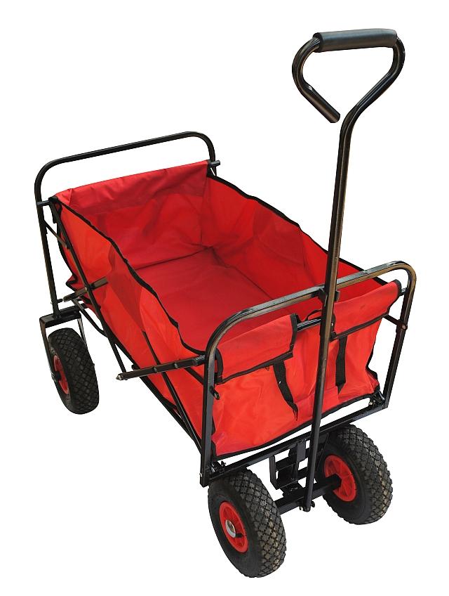 transportwagen faltbar bollerwagen strand wagen klappbar handwagen lastenwagen ebay. Black Bedroom Furniture Sets. Home Design Ideas