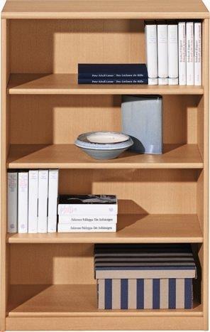 regal soft plus holznachbildung b cherregal b roregal h he 110 cm breit 72 cm. Black Bedroom Furniture Sets. Home Design Ideas