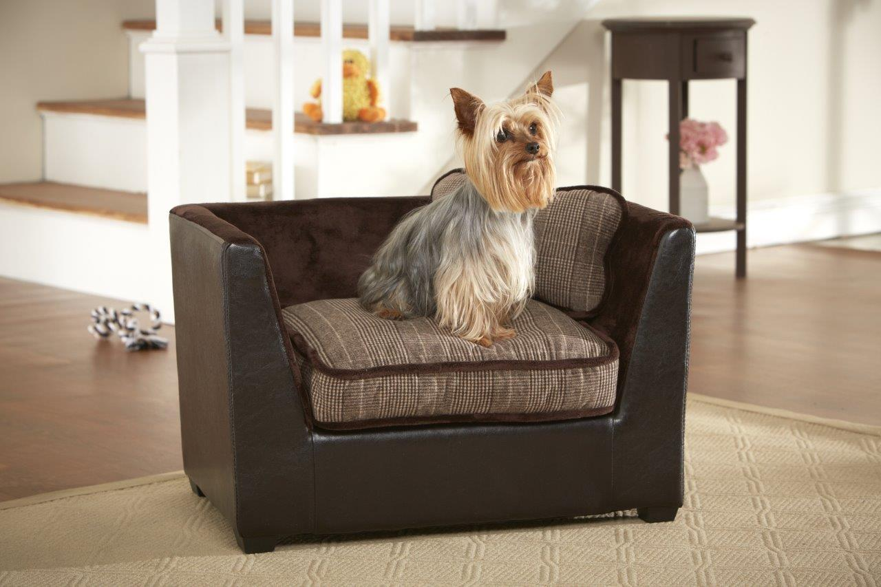 hundesofa hundebett hundekorb sofa mit kissen bezug waschbar ca b67 h43 t41 cm ebay. Black Bedroom Furniture Sets. Home Design Ideas